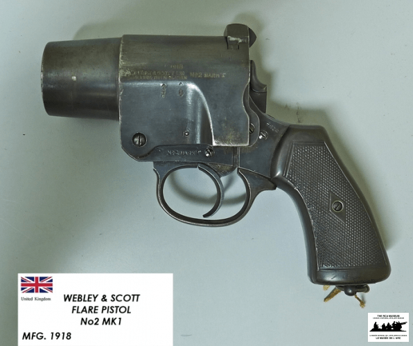 Webley-and-Scott-Flare-Pistol