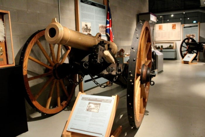 9 Pounder Smooth Bore Gun