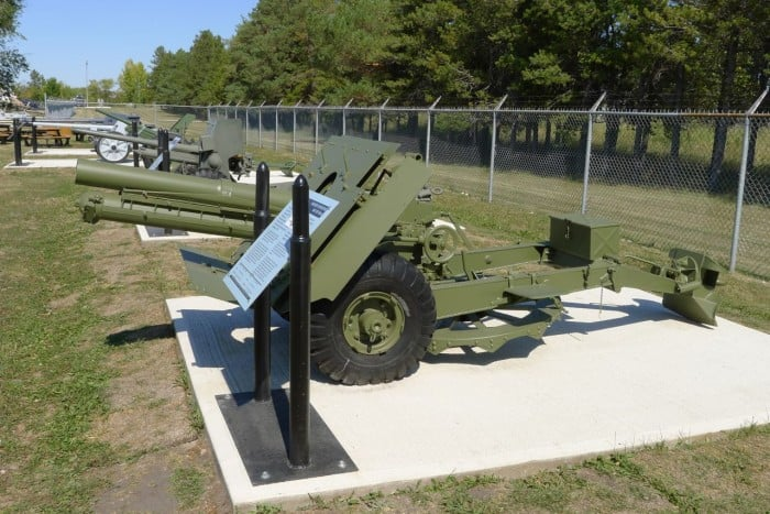 OBUSIER D'INFANTRIE Mk II DE 95mm