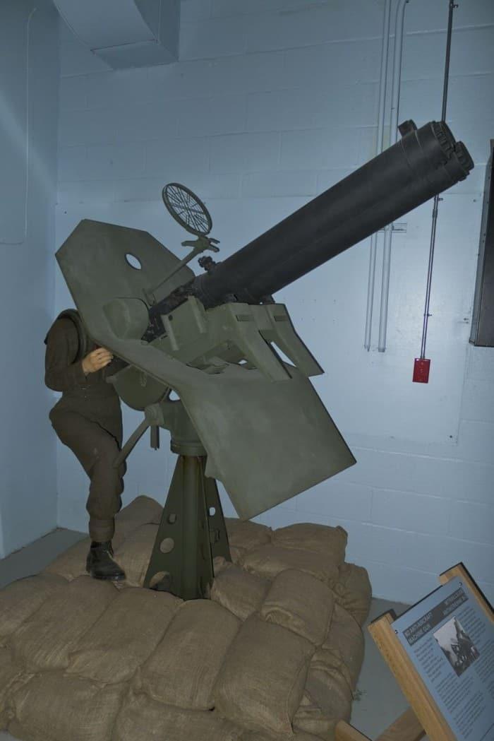 M2 50 CAL Browning Anti-Aircraft Gun