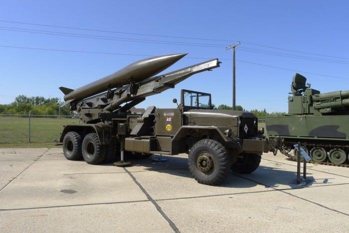 MGR-1 Honest John Rocket US