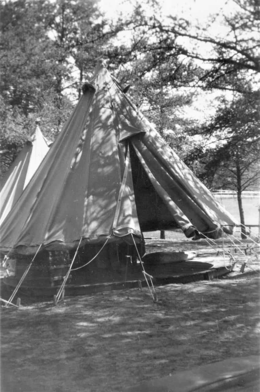 1937-My-Tent-Petawawa