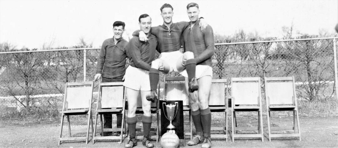 1938-Football-Bill-Percy-Joe-Nick