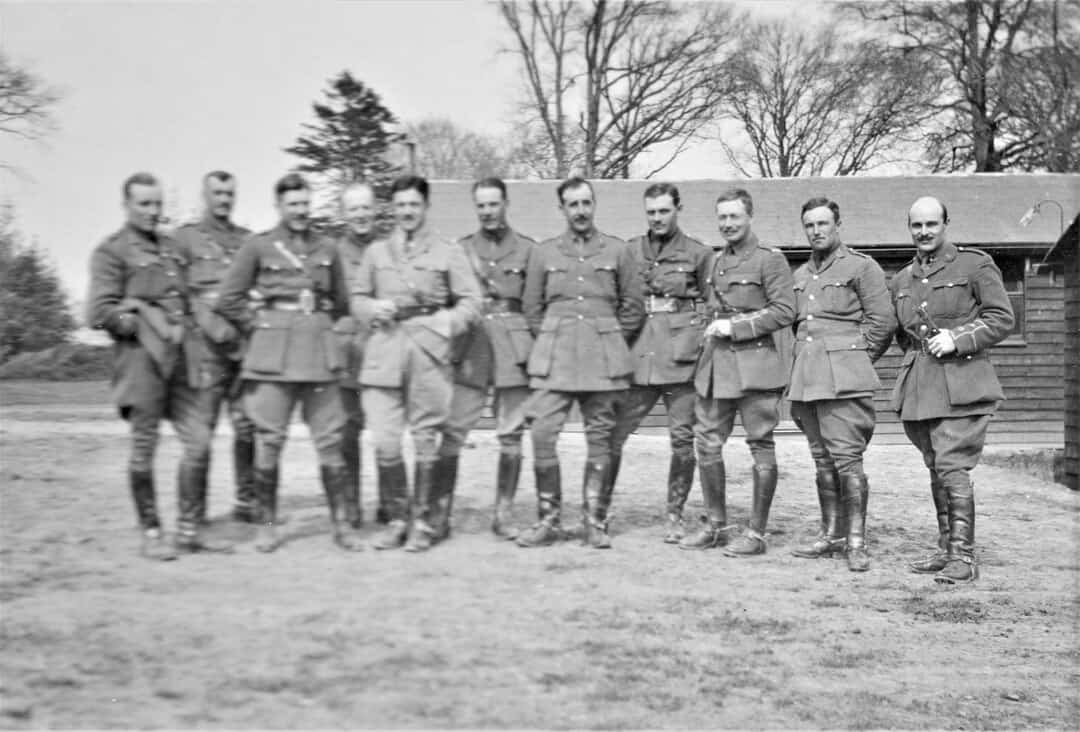 6.-1915-April-Officers-of-A-Battery