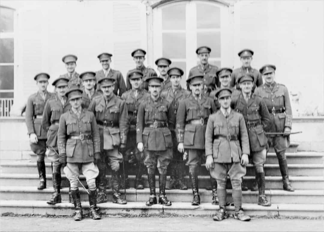 7.-1919-March-Officers-RCHA-Bde
