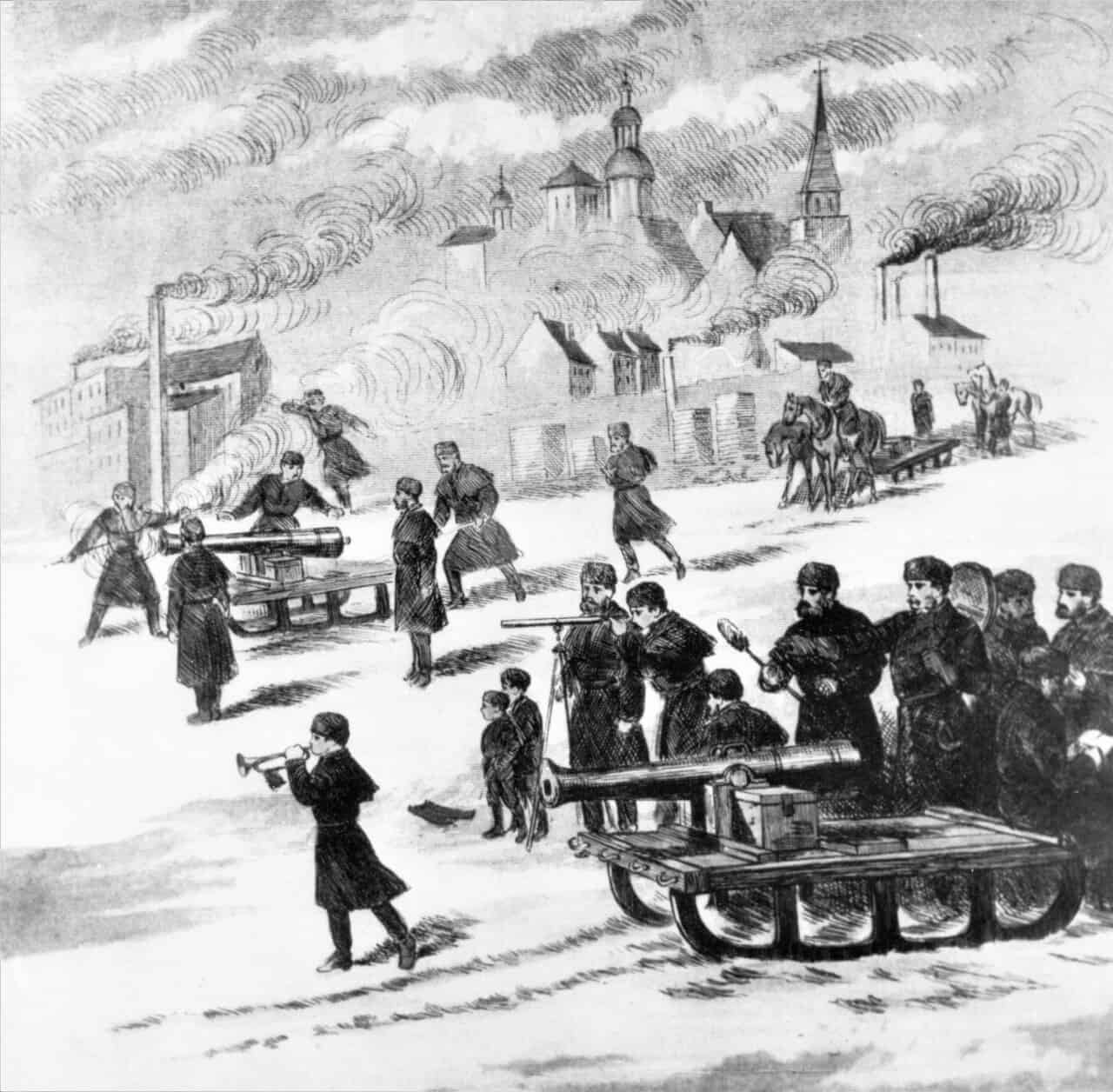 1873-B-Battery-Gun-Practice-St-Charles-River