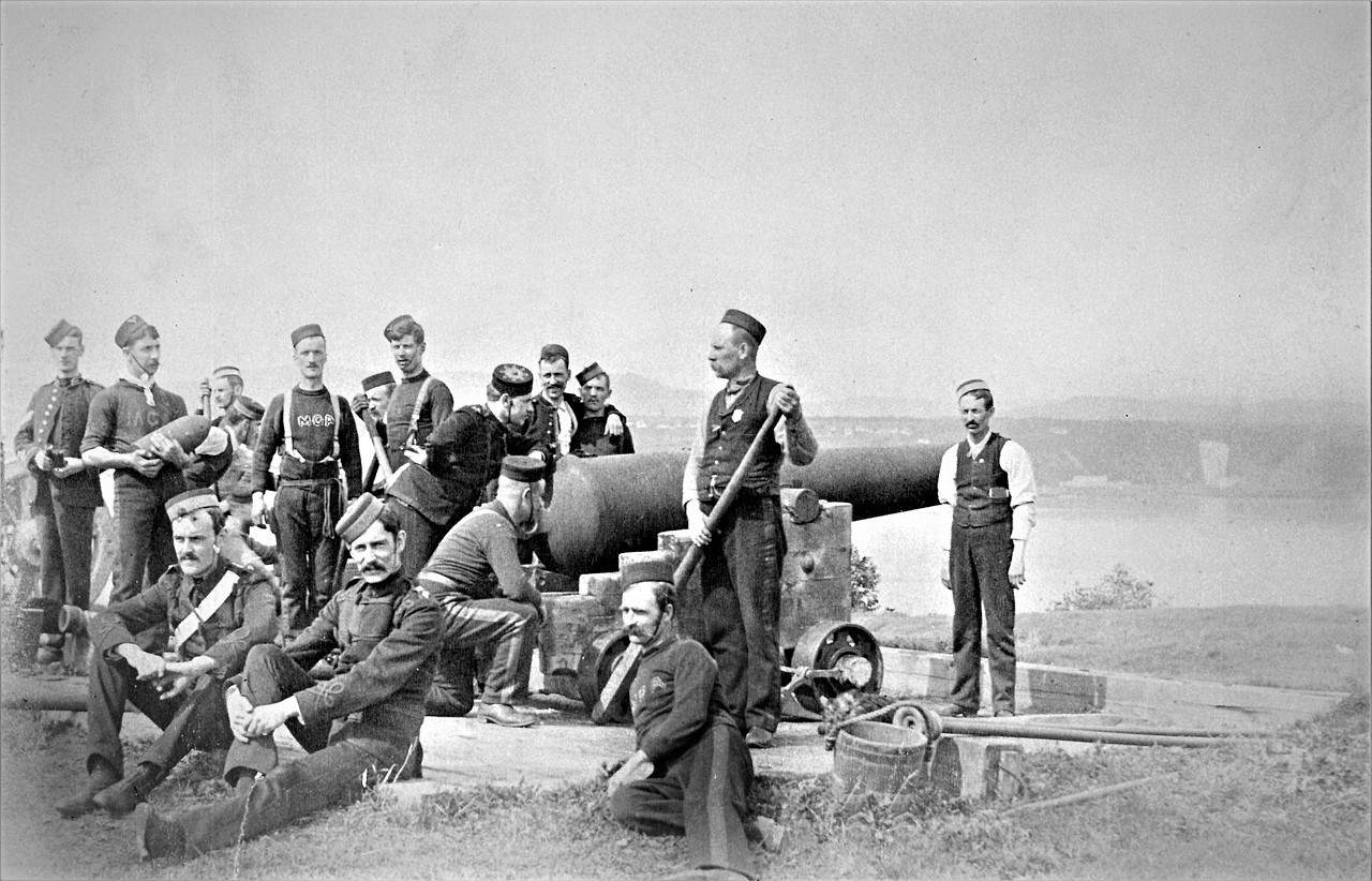 1890-Dominion-of-Canada-Artillery-Association-Practice-Camp-Ile-dOrleans-Quebec