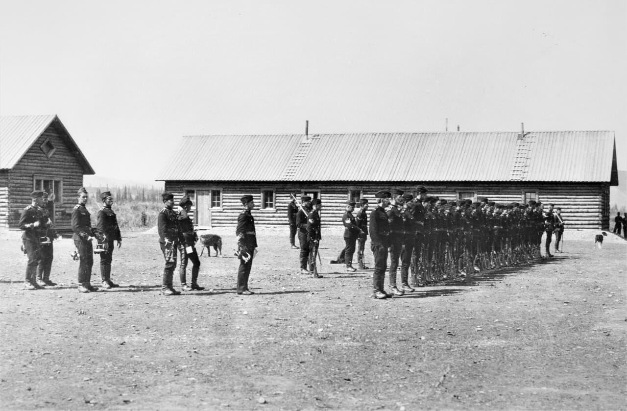 1899-Yukon-Field-Force-Fort-Selkirk