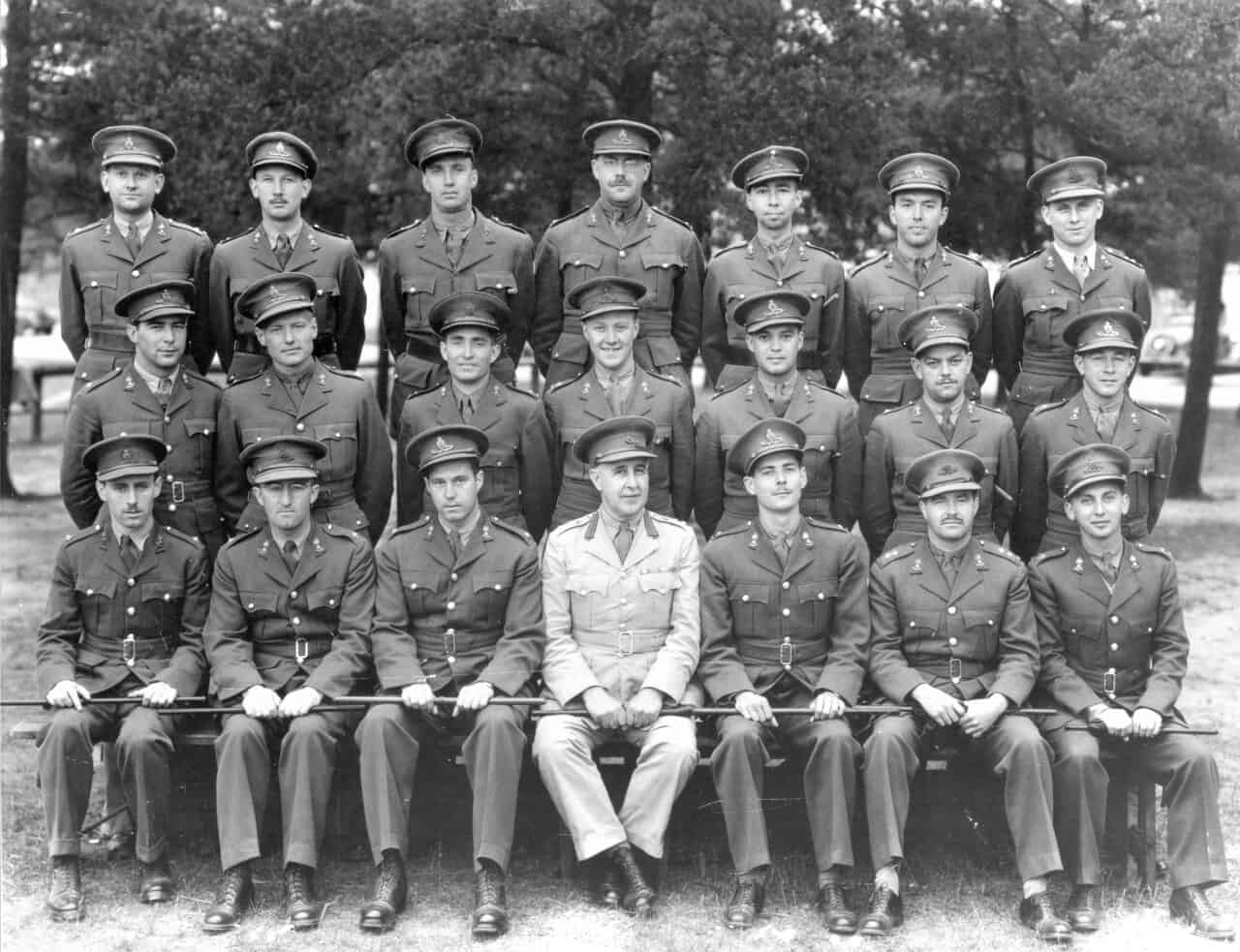 1940-RCHA-Petawawa-Ontario-Officers-Course