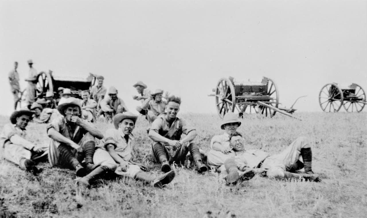 Gunner-Training-1920s-18-Pounders