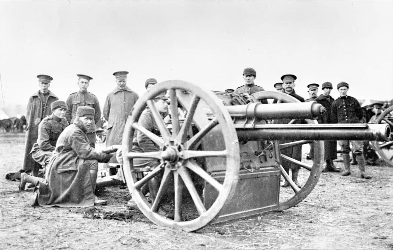 North-Russia-18-Pounder-1919