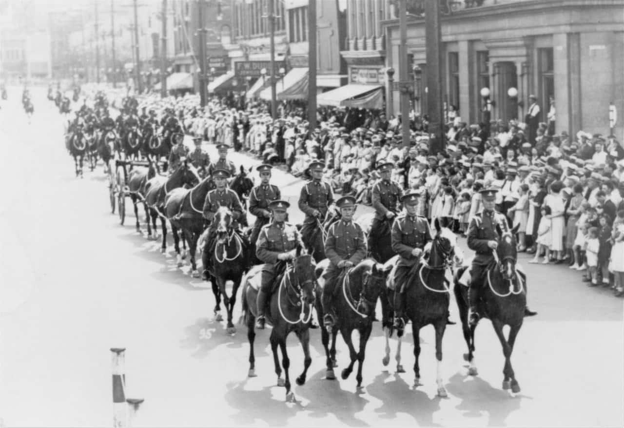 RCHA-Decoration-Parade-Winnipeg-1933